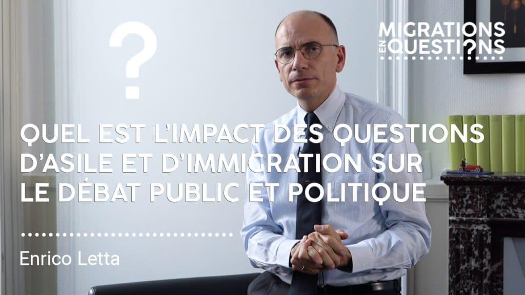 Quel est l'impact des questions d'asile et d'immigration sur le débat public et politique ?