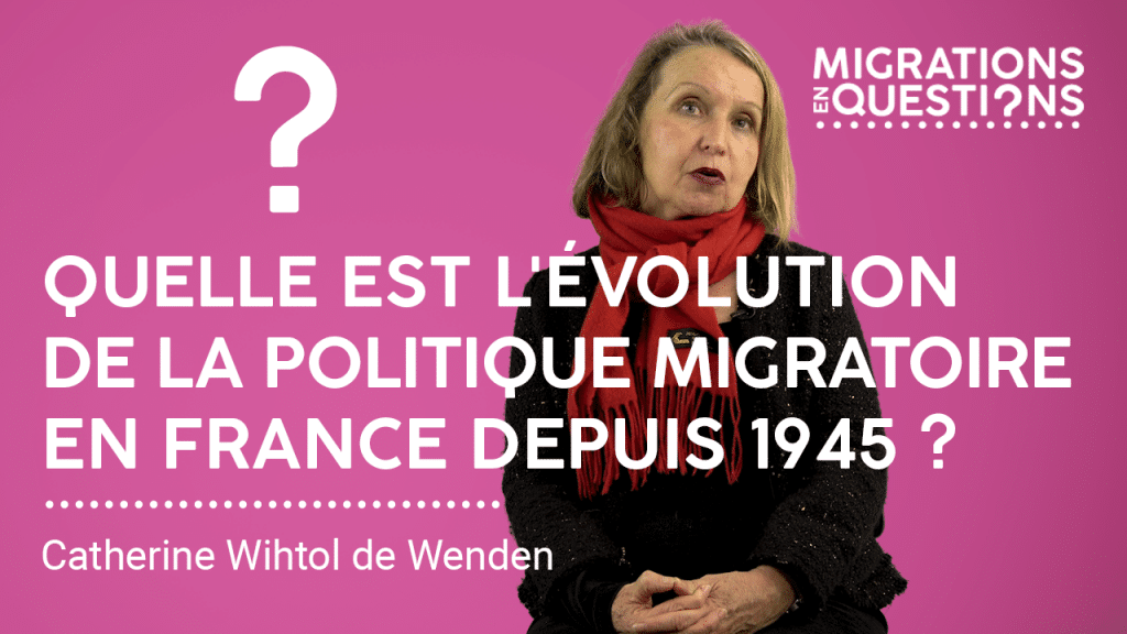 Quelle est l'évolution de la politique migratoire en France depuis 1945 ?