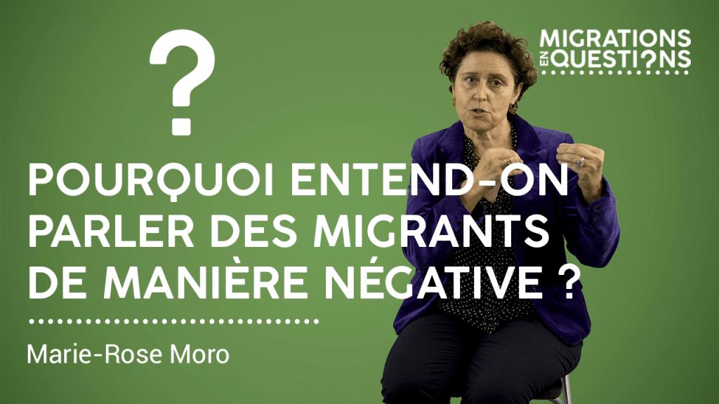 Pourquoi entend-on parler des migrants de manière négative ?