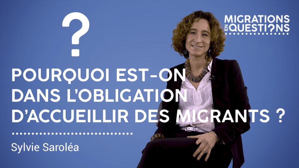 Pourquoi est-on dans l'obligation d'accueillir des migrants ?