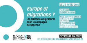 Les questions migratoires dans la campagne européenne