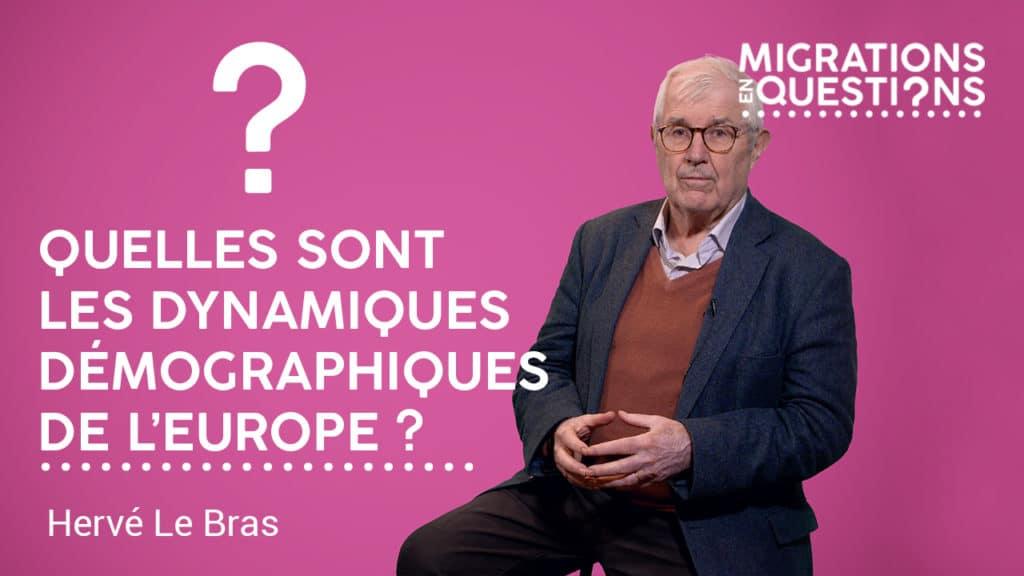 Quelles sont les dynamiques démographiques de l'Europe ?